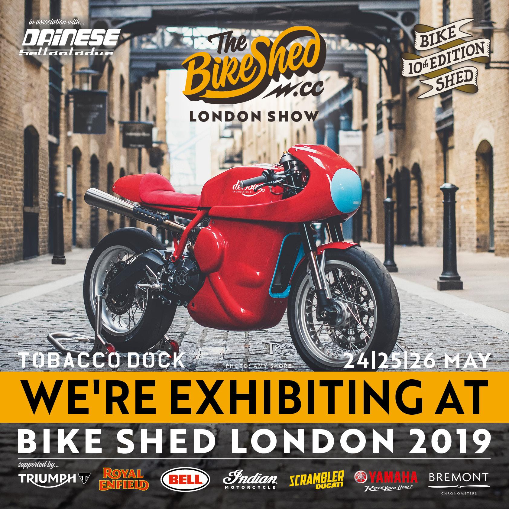 Bike Shed London Show 2019